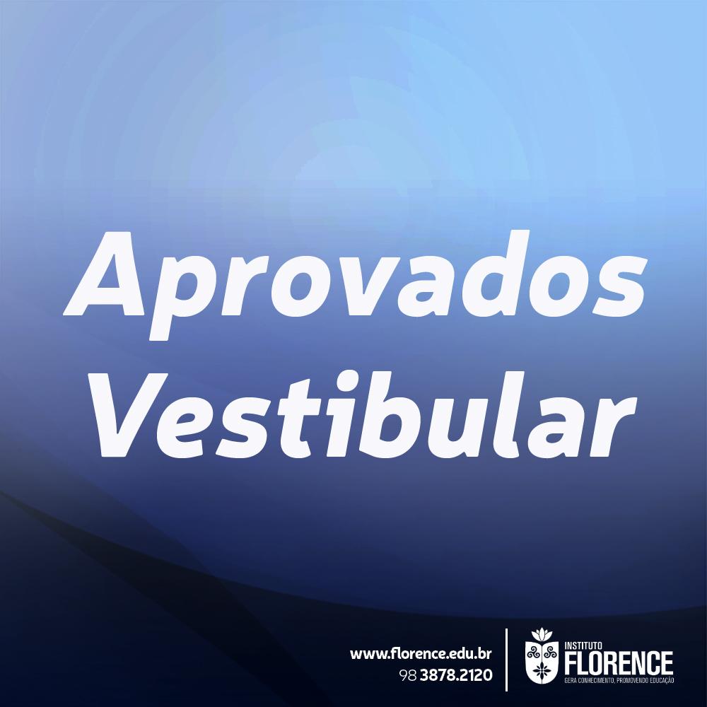 Aprovados Vestibular