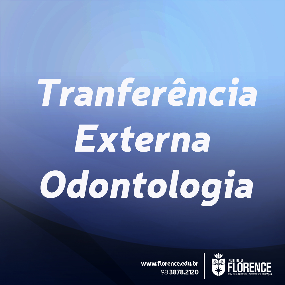 Transferência Externa Odontologia