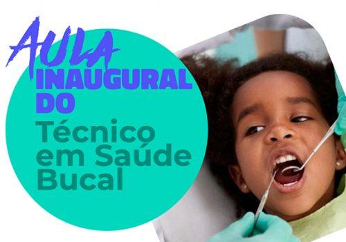 Curso de Saúde Bucal tem aula inaugural no dia 2 de março