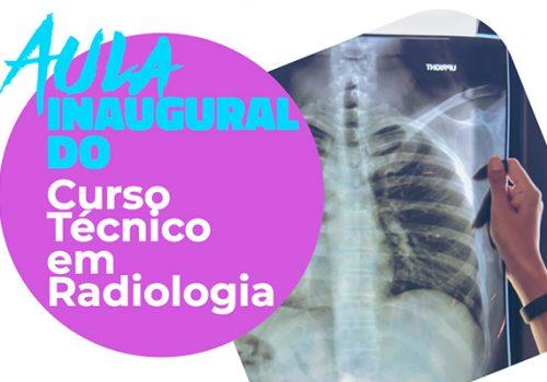 Instituto Florence promove aula inaugural do Curso Técnico em Radiologia