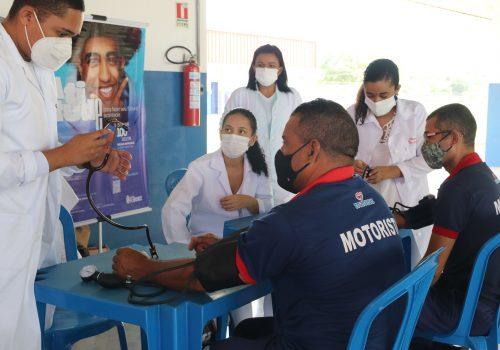 Florence promove ação de saúde no Grupo Mateus em atenção ao dia do motorista