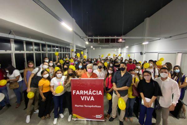 """Curso de Farmácia da Florence participa de programações da SES em alusão ao """"Setembro Amarelo"""""""