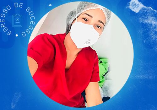 Egressa de sucesso do Instituto Florence atua em UTI Adulto e Reanimação Neonatal