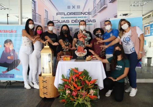 Florence realiza doação de alimentos ao Santuário Nossa Senhora da Conceição